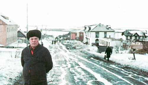 Инкогнито из Красноярска, или 4-й приезд  Виктора Астафьева в Игарку