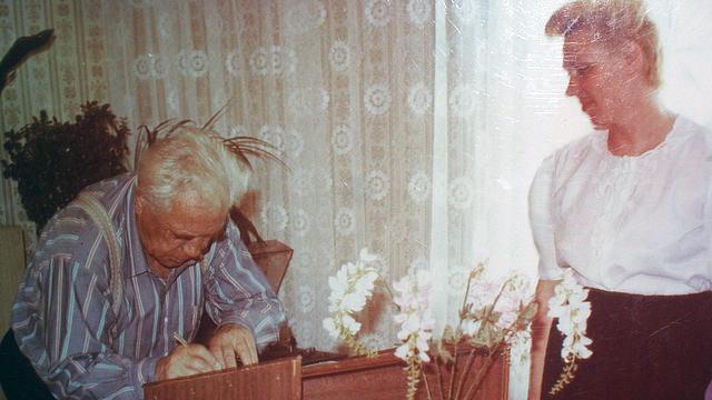 Виктор Астафьев в Игарке