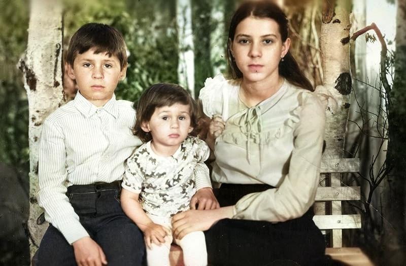 Вася, Алёша, Алёна