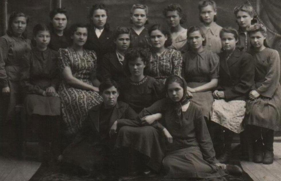 Педучилище. 1947 год.