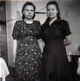 Рая Чупрова и Фаля Палеева
