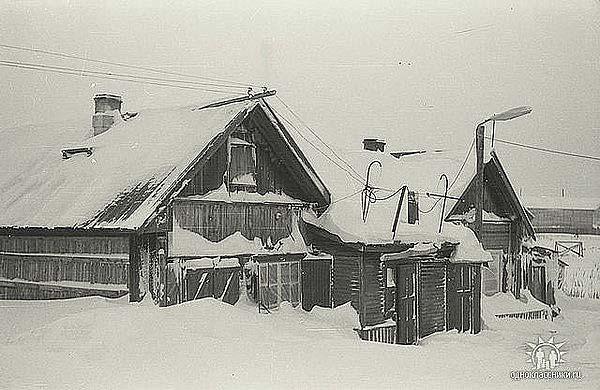 улица Лесная в Игарке, где жил брат Астафьева –Николай