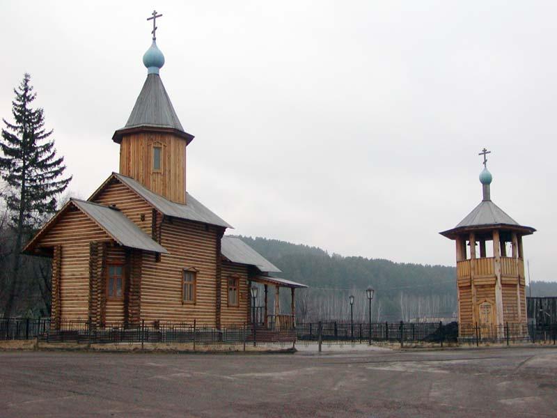 Церковь Святителя Иннокентия Иркутского в с.Овсянка