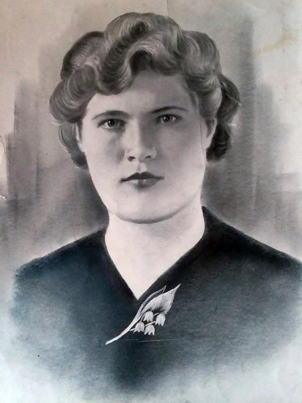 Графская (Щенникова) Клавдия Григорьевна