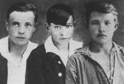 Виктор Астафьев, Виктор Достовалов, Николай Березин.