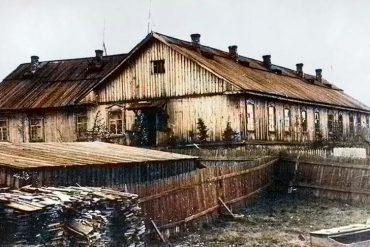 Бывшая школа-интернат для спецпереселенцев (ул.Полярная, 17)