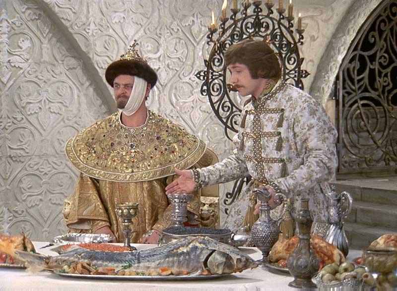 Осётр на царском столе