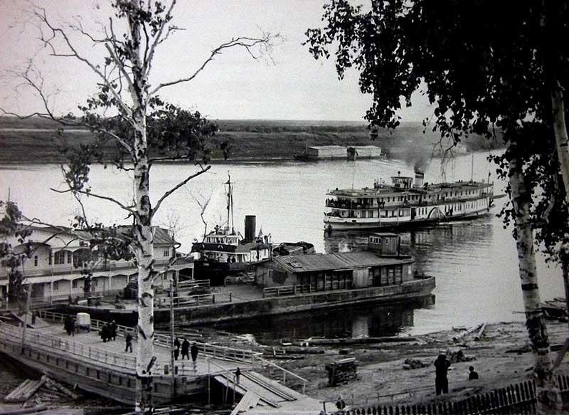 Речной порт г.Игарка