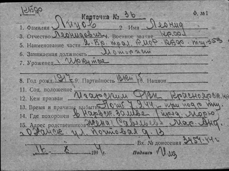 Лицов Леонид Леонидович