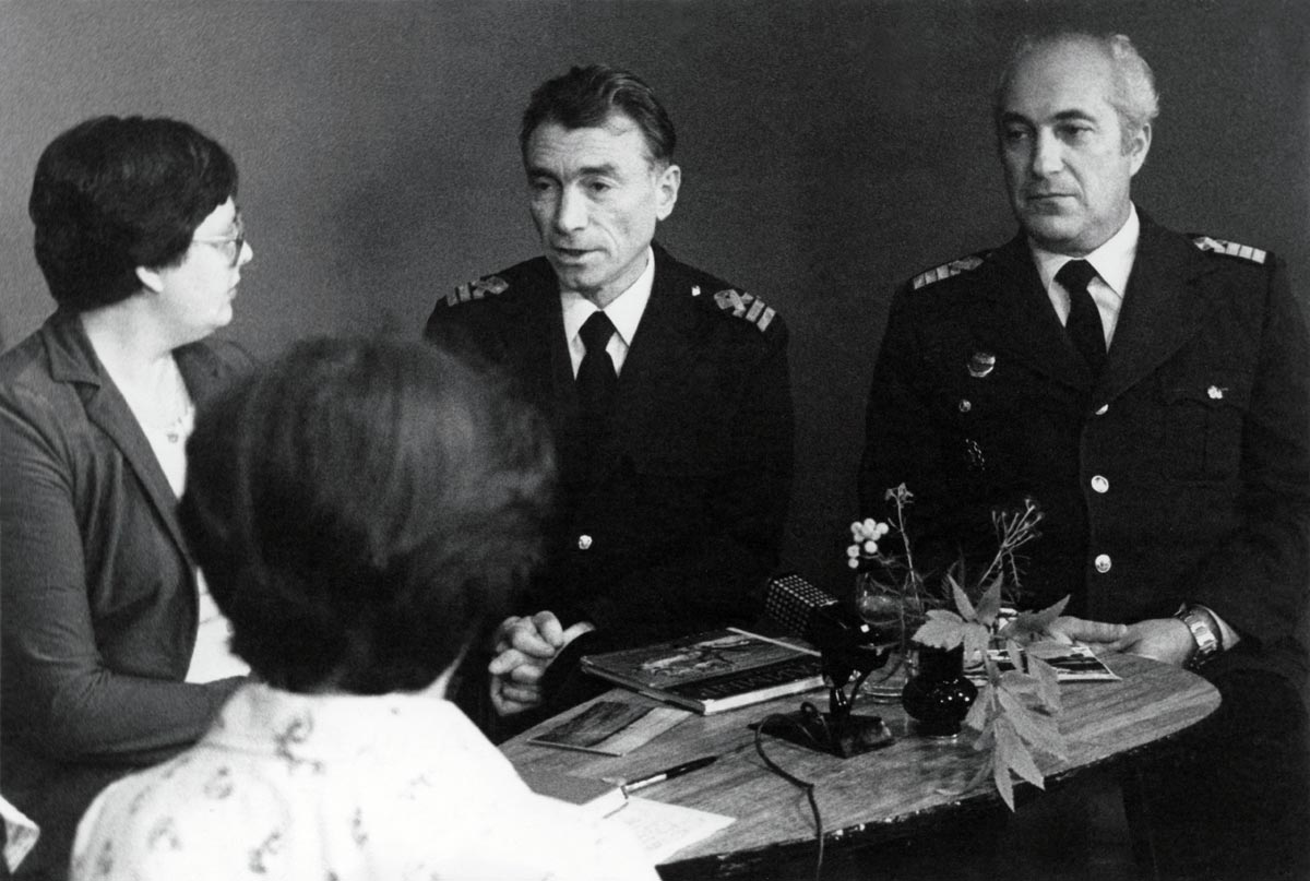 Виктор Конецкий и его игарские почитатели